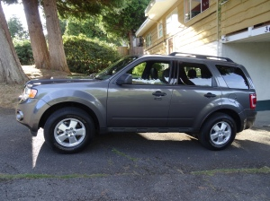 My new 2011 Ford Escape