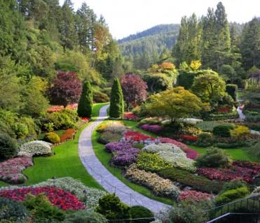 Sunken Garden today
